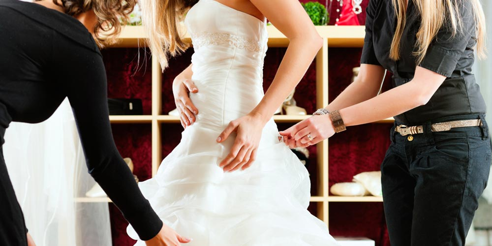 wedding dress alterations Perth